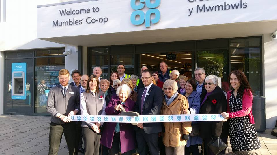 Musical Memories Sings At New Mumbles Co-Op