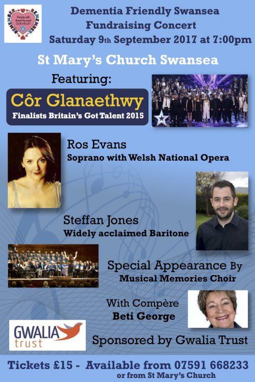9th September Concert Poster