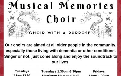 Musical Memories Choir Brings Their Magic To Morriston