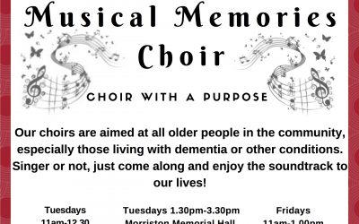 Musical Memories Choir Brings Their Magic To Morriston