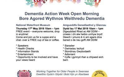 Dementia Action Week Open Morning 17th May Waterfront Museum