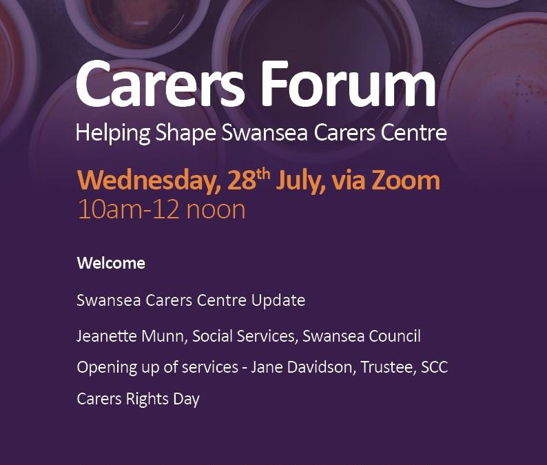 Help Shape The Future Of Swansea Carers Centre